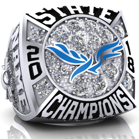 Heritage Christian Academy Championship Ring - Design CA-02 - 1.2