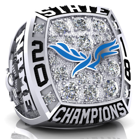 Heritage Christian Academy Championship Ring - Design CC-01 - 2.2