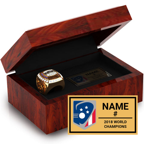 Team USA Lacrosse Ring Box