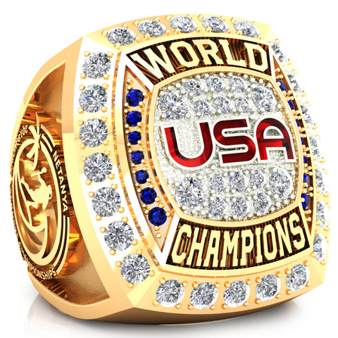 Team USA Lacrosse Ring Design 4.5