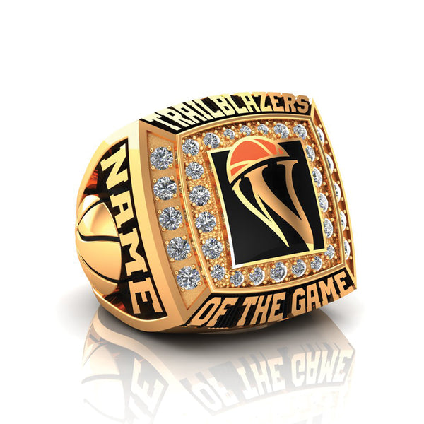 WBHOF Trailblazers of the Game Ring - Gold Durilium