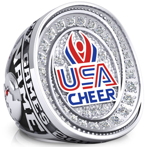 USA Cheer Ring - Design 3.1 (Large)