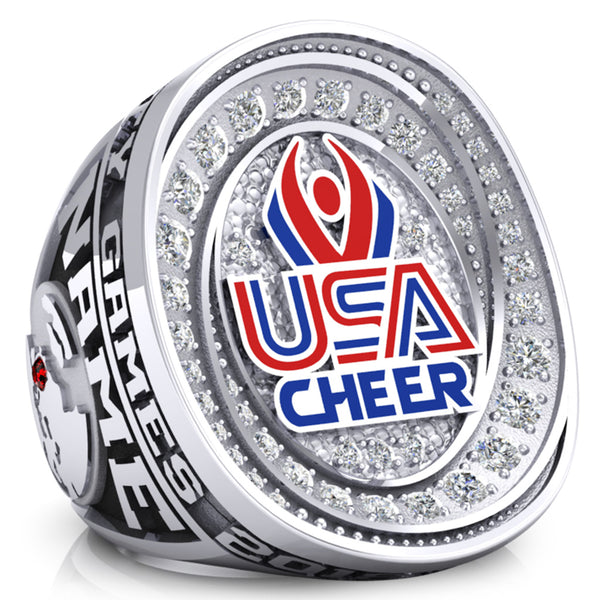 USA Cheer Ring - Design 2.4 (XL / 2XL)