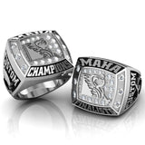 Championship MAHA Ring with Cubics