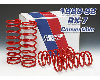 Racing Beat Spring Set 86-91 RX-7 Convertible, 14082