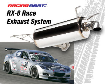 Racing Beat Race Exhaust System 04-11 RX-8, 16396