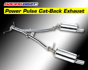 Racing Beat Power Pulse RX-7 Exhaust System 86-92 RX-7 (All Models) 16418