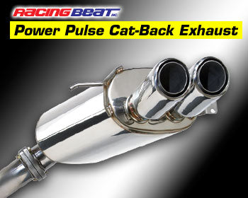 Racing Beat Cat-Back Dual Tip RX7 Exhaust (FD) Racing Beat, 16427