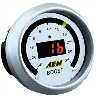 AEM Digital Boost Gauge 35 PSI, 30-4406