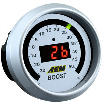 AEM Digital Boost Gauge 50 PSI, 30-4408