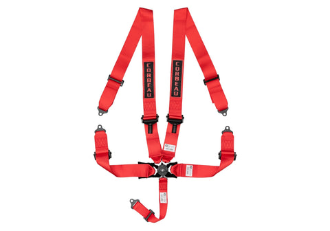 "Corbeau 5-Point 3"" Camlock Harness Belts"