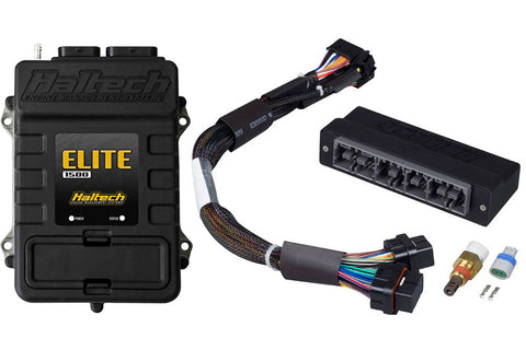 Elite 1500 + Mazda RX7 FD3S-S6 Plug 'n' Play Adaptor Harness Kit, HT-150927