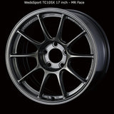 WedsSport TC105X Wheel - 17x9.5 / 5x114 / Offset +32 (Face: MR)