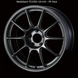WedsSport TC105X Wheel - 18x8.5 / 5x100 / Offset +43 (Face: FR)