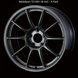 WedsSport TC105X Wheel - 18x8.5 / 5x114 / Offset +50 (Face: FR)