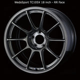 WedsSport TC105X Wheel - 18x10.0 / 5x114 / Offset +35 (Face: R)