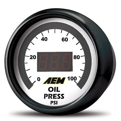 AEM Digital Gauge Kit: Pressure (52MM), 30-4401