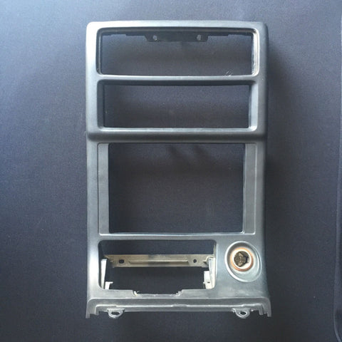 89-91 Mazda Rx7 Stereo Surround Bezel