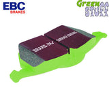 EBC Green Stuff 2000 Brake Pad Mazda RX7 86-95 (Rear)