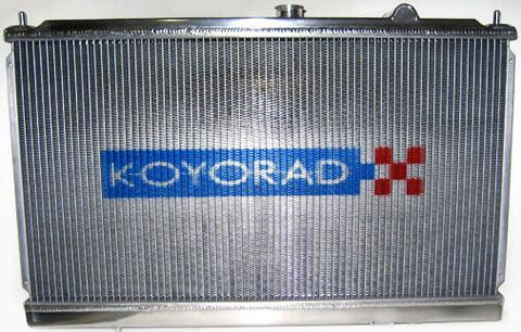 Koyo 48MM Dual Pass Racing Radiator: RX-7 89-92 (NA & TURBO), KOYO-HH060643N