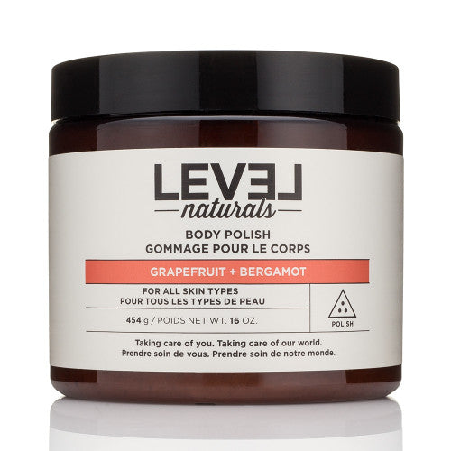 Level Naturals Body Polish - Grapefruit + Bergamot