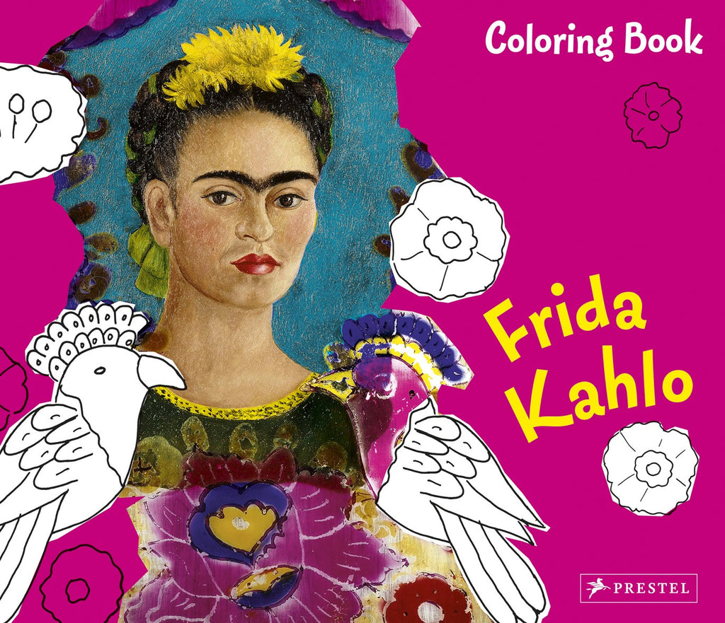 Frida Khalo Coloring Book