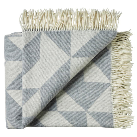 Tina Ratzer Twill Throw Light Grey