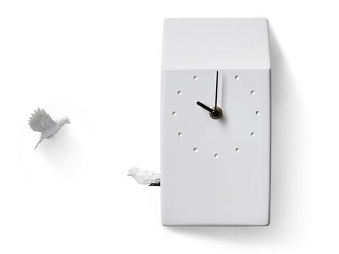 Cuckoo Clock- light gray