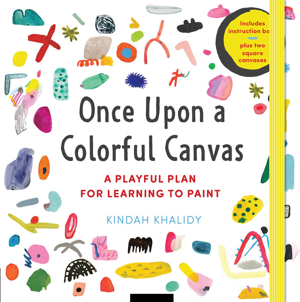 Once Upon a Colorful Canvas : A Playful Plan for Learning to Paint