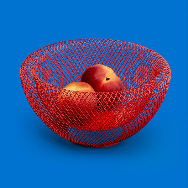MoMA Wire Mesh Bowl - Red