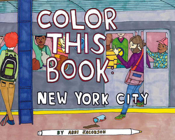 Color this Book: New York City Abbi Jacobson