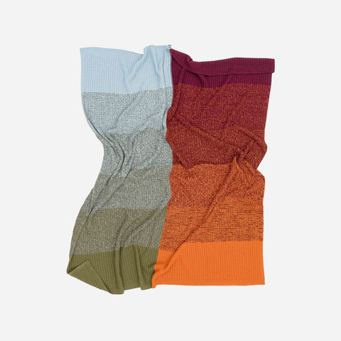 Verloop Knits Sunrise Sunset Throw Blanket
