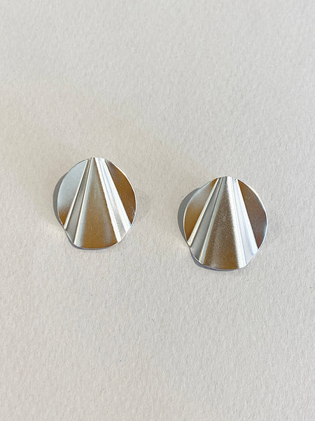 Kate Bordine Folded Deco Earrings SS