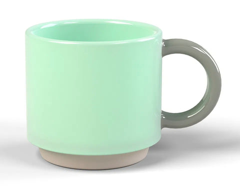 Lund Skittle Stackin Mug Light Grey
