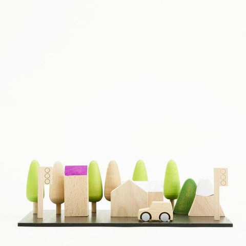 Kiko + GG Machi Tiny Wooden Town
