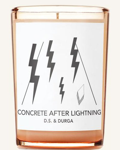 DS & Durga Concrete After Lightning 7 oz Candle