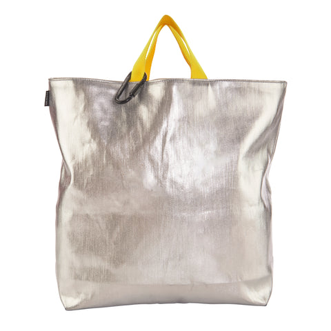 Lateral Objects Silver Tote Bag