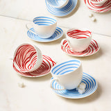 Louise Bourgeois Spirals Teacup & Saucer