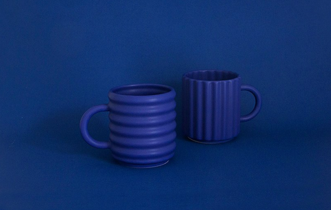 Ripple Mugs by Form + Seek