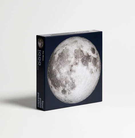 Moon by Four Points Puzzles