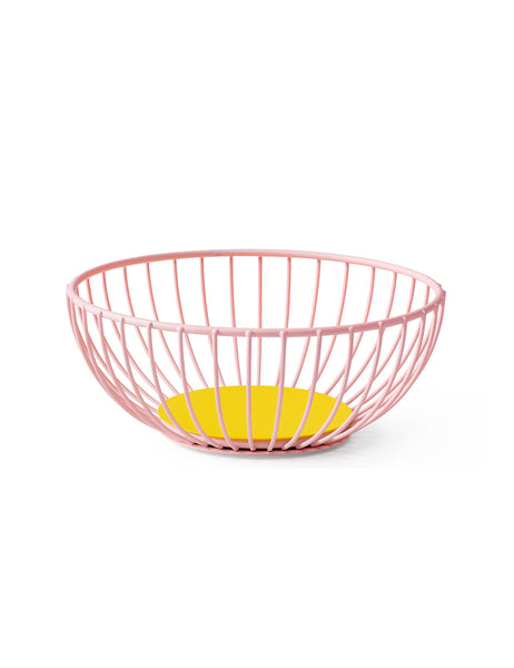 Octaevo Wire Basket Pink/Blue Small