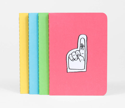 Adam Kurtz Notebooks - Set of 4