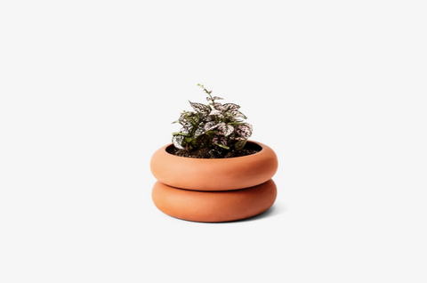 Terra Cotta Stacking Planter Short: 4 x 8 x 8 in DESIGNED BY CHEN CHEN AND KAI WILLIAMS