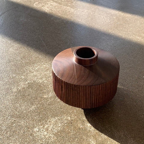 Hanna Dausch Walnut Vase No. 9