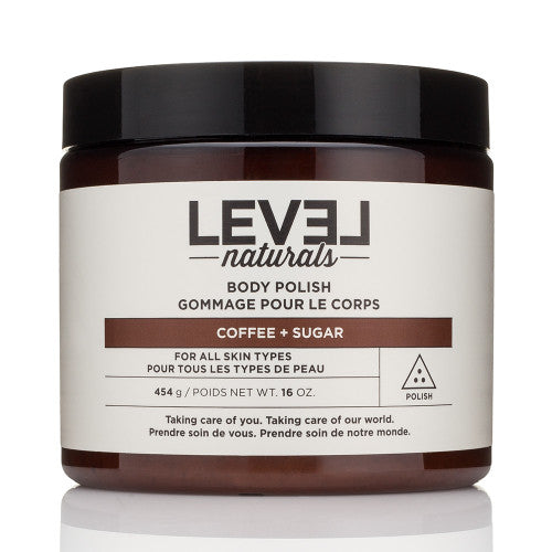 Level Naturals Body Polish - Coffee + Sugar