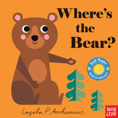 Where's the Bear by Nosy Crow