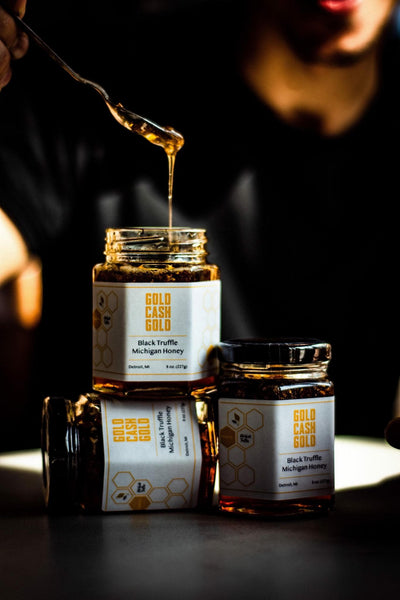 Gold Cash Gold Truffle Honey Deluxe
