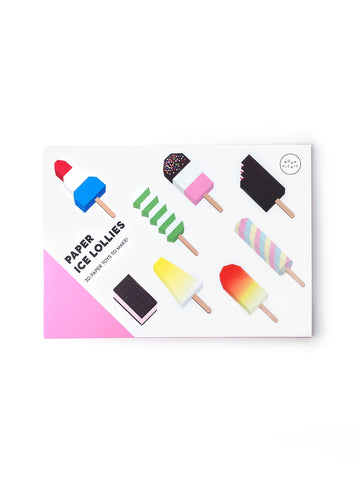 Paper Ice Lollies by Moon Picnic