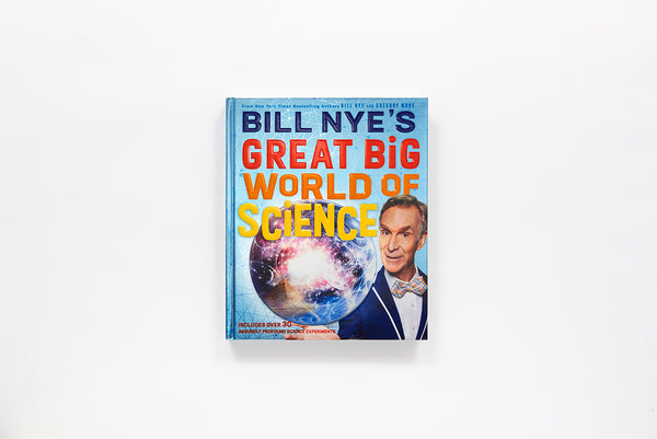 Great Big World of Science, Bill Nye, Abrams.