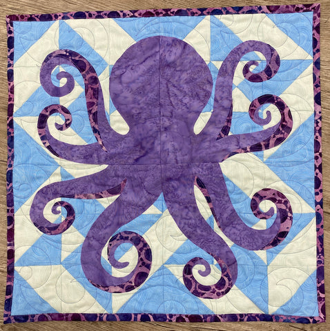 Octopus in a square